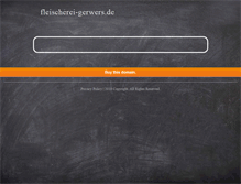 Tablet Preview of fleischerei-gerwers.de